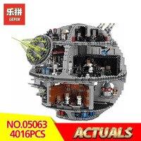 Lepin 05063 Star Wars Classic 4016Pcs Death star UCS LegoINGlys 79159 model Building kits Block Bricks Toys for Children gift