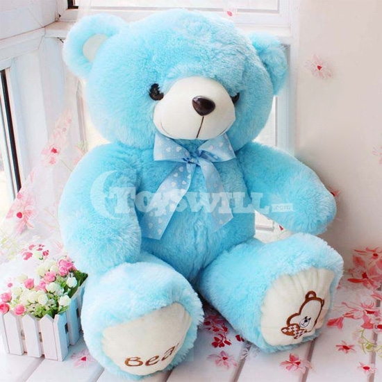 One piece 80cm high quality super kawaii cute lovely teddy bear one piece 80cm high quality super kawaii cute lovely teddy bear plush toys stuffed dolls baby toy valentines girlfriend gift in movies tv from toys thecheapjerseys Choice Image