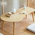 ZEN'S NUVENS de BAMBU mesa de Chá Moderno Design Simples Mesa de Café Fezes mesa de sala de estar/Varanda/Móveis Tatami
