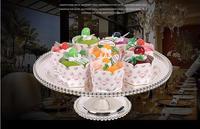 Średnica 30 cm srebrny tortownicę wokół koralik ciasto dekorowanie narzędzia owoce miska wedding cake stoiska dla dekoracji SG091 weddin