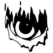 CK2572#15*17.4cm EYES OF EVIL funny car sticker vinyl decal silver/black car auto stickers for car bumper window car decorations ck2154 30 7cm silhouette of attendants funny car sticker vinyl decal silver black car auto stickers for car bumper window