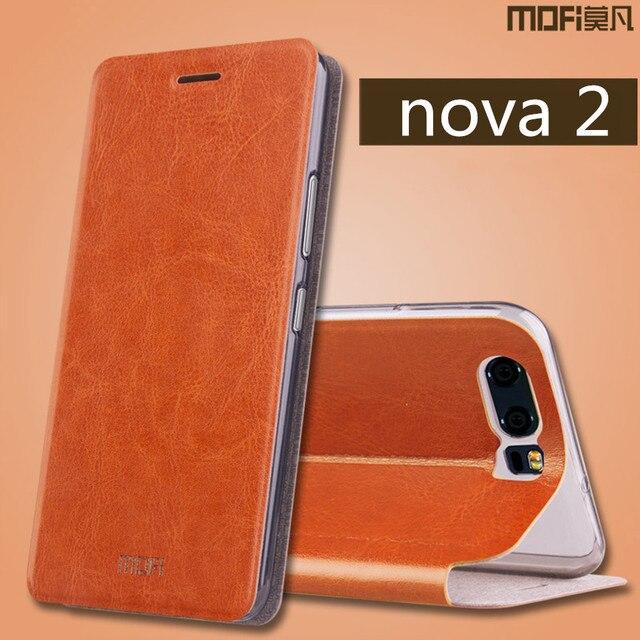 e2b0fd56015 Huawei nova 2 flip case cover huawei nova 2 plus flip case MOFi original  nova2 case