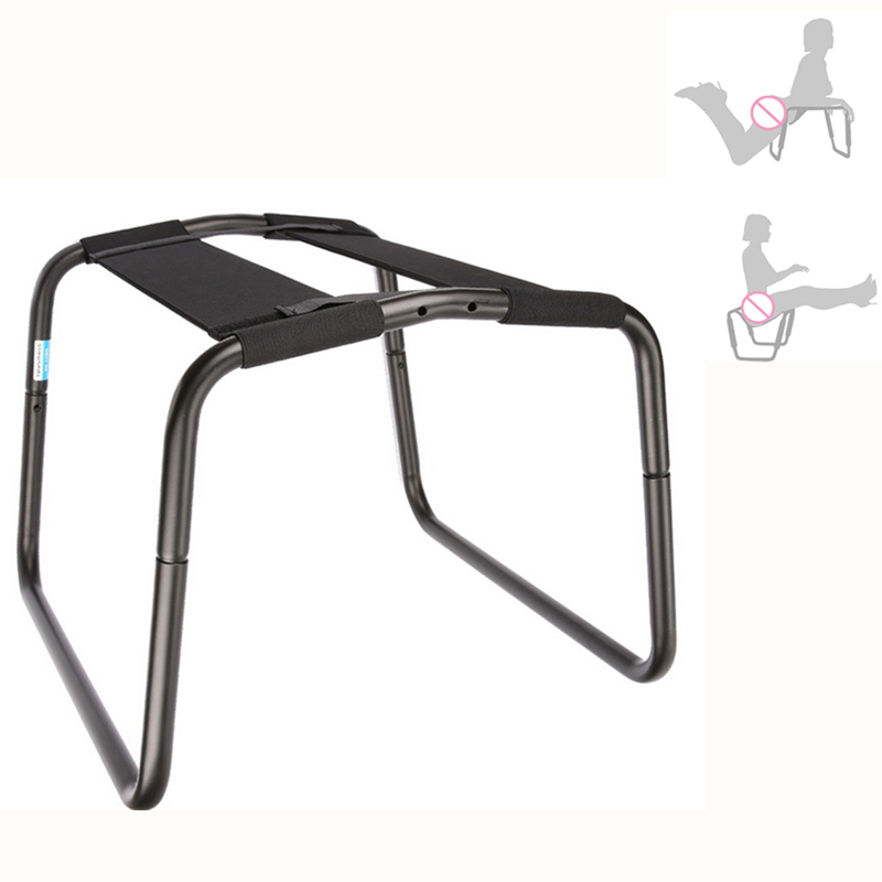 Sex Furniture Stainless Steel Love Chair Sofa Swing Trampoline G-Spot Orgasm Cushion Bounce Sex Pleasure Couple Adult Sex Toys