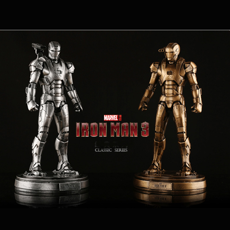 1/6 Scale Avenger Iron Man 3 Iron Patriot Resin Statue Action Figure Collectible Model Toy 1000toys toa heavy industries synthetic human 1 6 scale action figure collectible model toy brinquedos 28cm