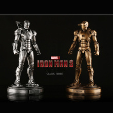 1/6 Scale Avenger Iron Man 3 Iron Patriot Resin Statue Action Figure Collectible Model Toy single sale 41 cm iron man series movie thanos resin action figure kids adults collectible toys garage kit toy movie character