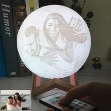 Прямая поставка фото/текст на заказ Лунная лампа