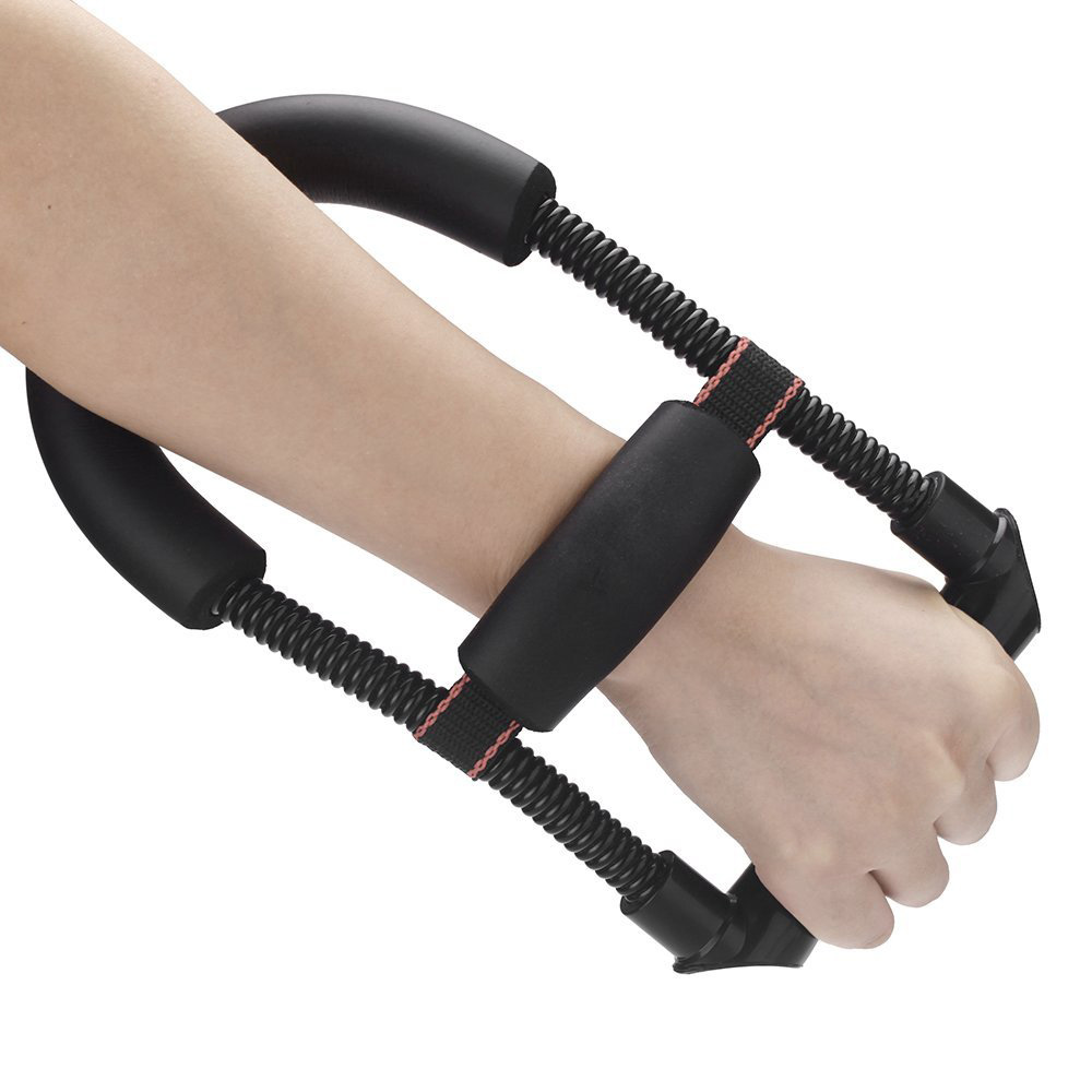 Power Wrist Device Forearm Force Flexor Strength Hand Gripper Training Tool Exerciser Steel Spring AdjustablePower Wrist Device Forearm Force Flexor Strength Hand Gripper Training Tool Exerciser Steel Spring Adjustable