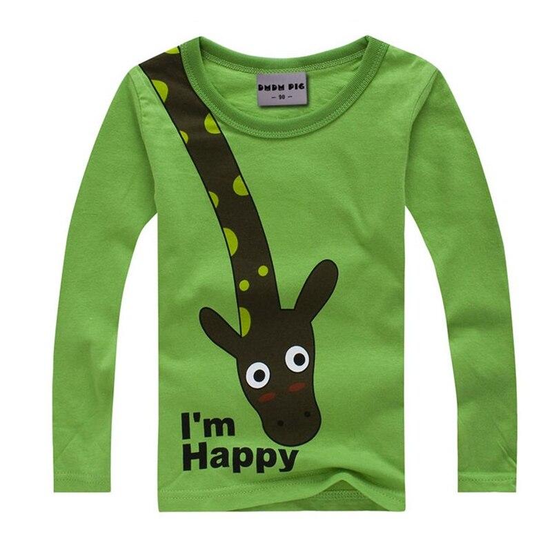 Dmdm Pig Summer Style New Cartoon Shirts Children