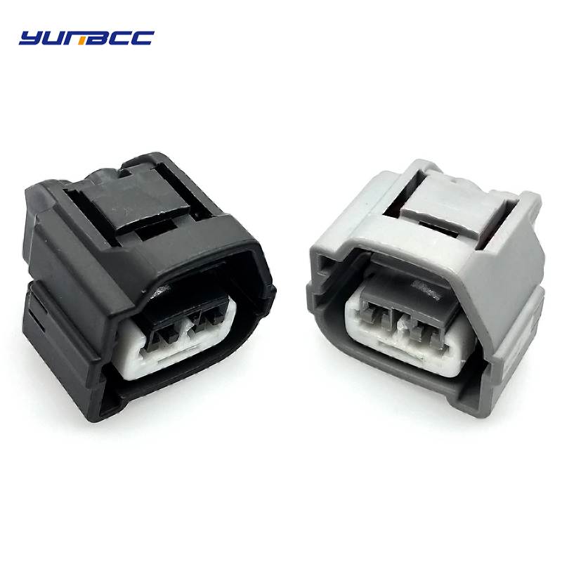 2 Sets 2 Pin/way Toyota Automotive Waterproof Connector Female Wire Plug 90980-10899 90980-10901