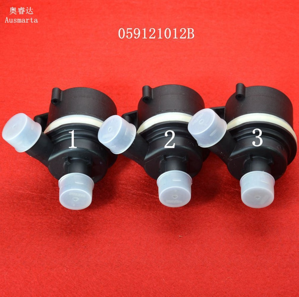 Nueva 3 unids genuino bomba de agua auxiliar 059121012B 059 121 012 B 059-121-012-B