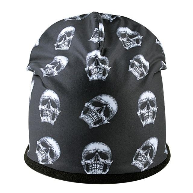 Skull Pattern Beanie 2