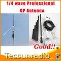Розничная и Оптовая торговля 1/4 волны GP fm вещания антенны BNC Бесплатная доставка
