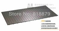 800*400 мм Большой Душ Роза прямоугольник из нержавеющей стали для ванной Дождь потолок душем для душа насадки для душа матовый никель