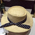 Wide Brim Bowknot Hats Elegant Women Summer Sun Hat Fashion Straw Caps Outdoor Beach Sunhat Sunscreen Hat for girl vacation