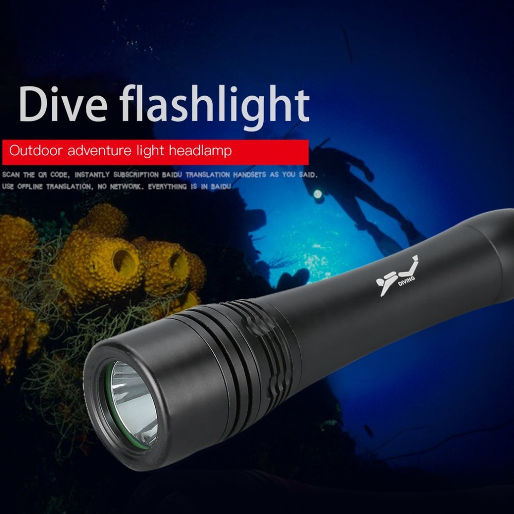 Underwater 100m Diving Flashlight Waterproof 15000Lm XM-L T6 LED Light Scuba Diving Lamp Torch 3800 lumens led diving flashlight lantern cree xm l t6 waterproof underwater scuba flashlight torch light lamp diver zk92