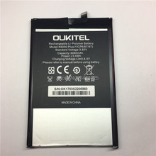 Mobile phone battery OUKITEL K6000 plus 6080mAh Long standby time High quality Accessories