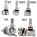 2PCS/LOT H4 H7 Led 30w 60w G8 8G 6000LM 12000LM Led Headlight Lamp 6000K White 9005 9006 Bulb Headlamp Replacement h7 halogen