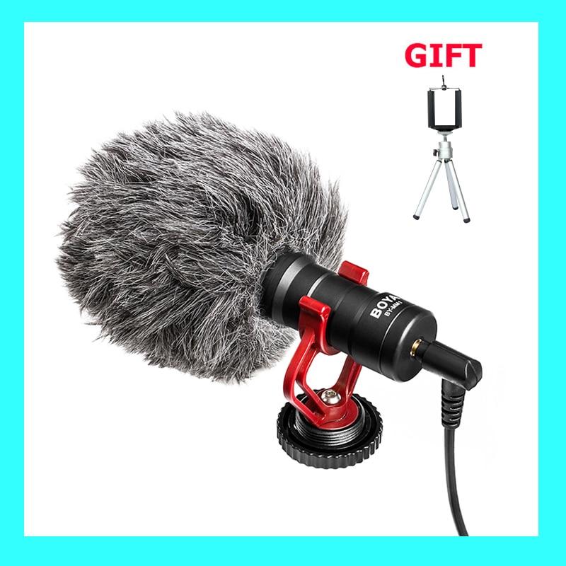 In Stock Original BOYA BY MM1 Camera font b Video b font Microfono Shotgun Microphone font