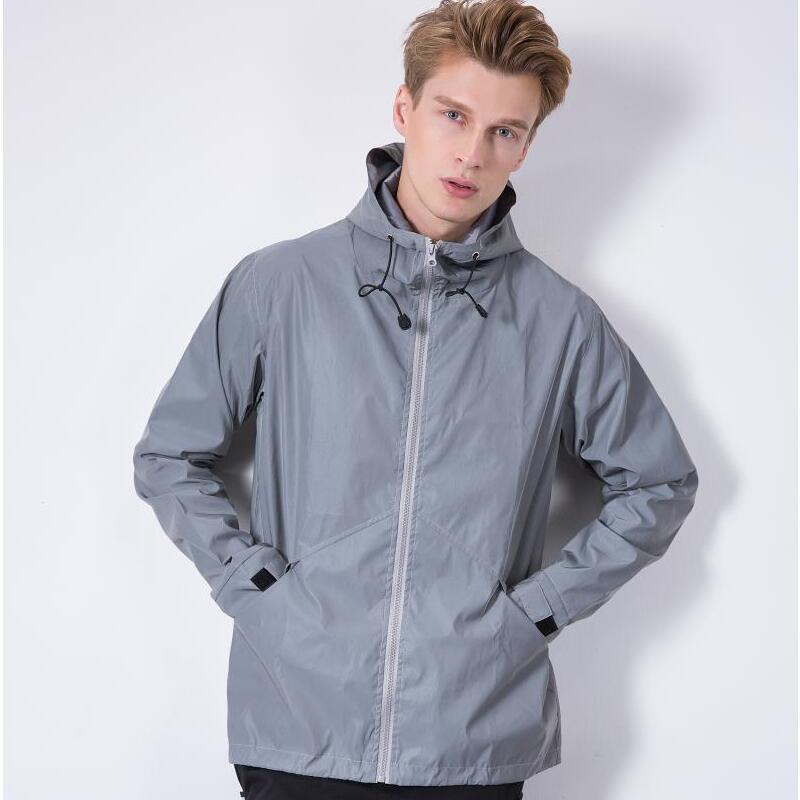 Men's Clothing 2018 Spring Autumn Glowing Crazy Bulldog Mans Flight Jacket Casual Fashion Zipper Full Sleeve Jackets And Coat Usa Size