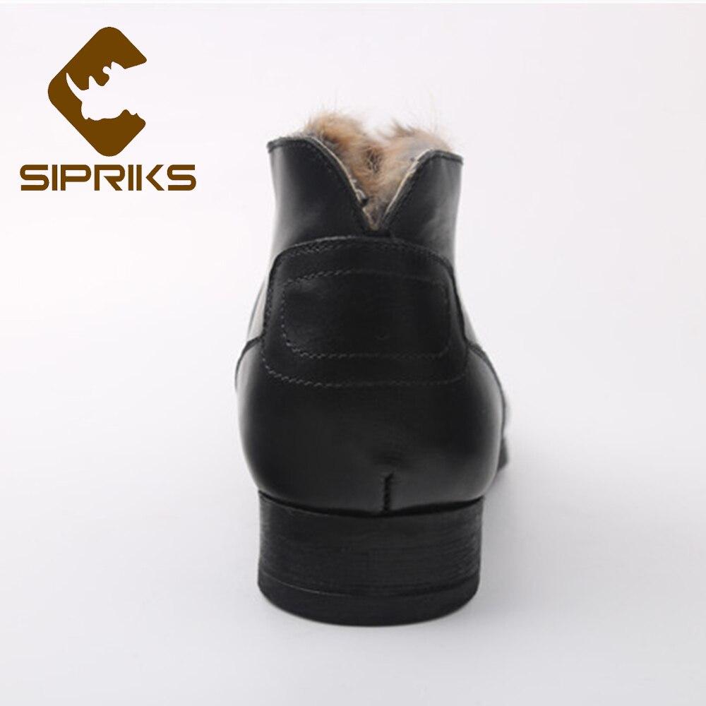 High Cuir D'hiver Russe Blake Mackay Sipriks Au Noir Chaussures rrSEPqAn