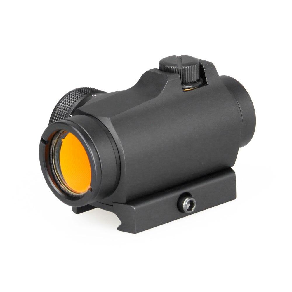 Lunette de visée tactique PPT optique de chasse 2 MOA T2 point rouge visée portée de fusil de chasse Compact point rouge portée PP2-0106