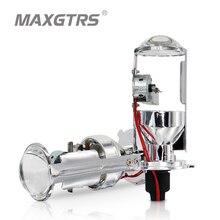 2x Новый H4 объектив Мини-проектора лампы 55 W 4300 k 6000 k H4 Биксеноновая лампа проектора объектив с быстрым яркий H4 лампы для фар автомобиля