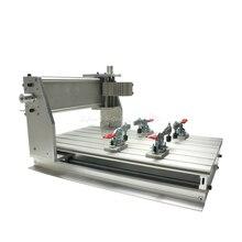 цена на wood cnc router 3040Z-DQ mill frame aluminum table alloy engraving machine part