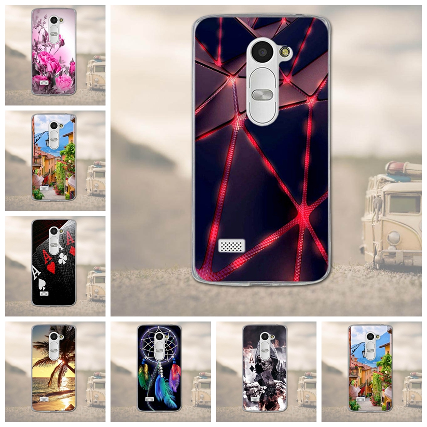 For <font><b>LG</b></font> <font><b>Leon</b></font> Case 3D Cute Capa Soft Silicone TPU Back Cover for <font><b>Fundas</b></font> <font><b>LG</b></font> <font><b>Leon</b></font> <font><b>4G</b></font> <font><b>LTE</b></font> C40 C50 H324 H340N H320 Cases Cover Coque image