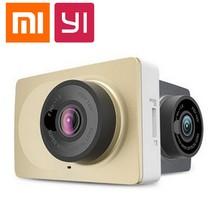 100% original xiaomi yi xiaoyi smart car dvrs cámara wifi inalámbrico ADAS dvr Cámara de la Rociada Leva 1080 P 2.7 pulgadas para Android y iOS