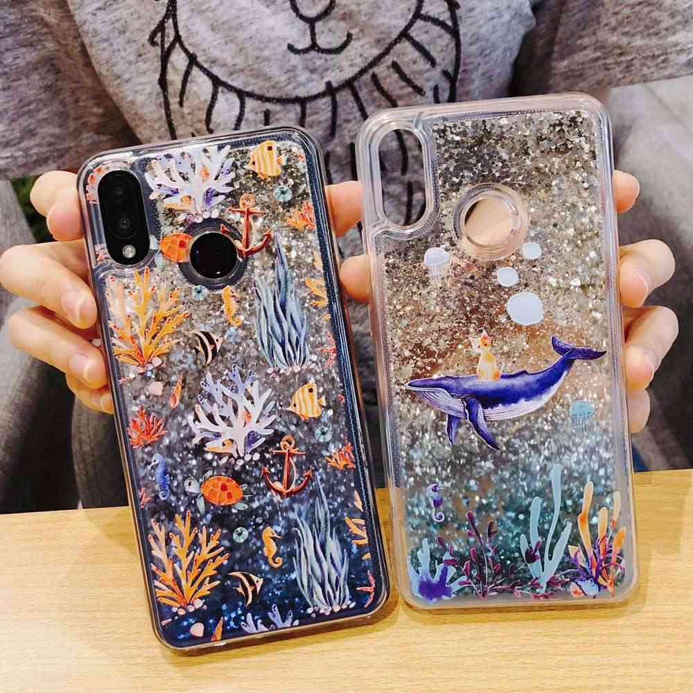 Luxury Liquid Glitter Case For Xiaomi Mi Mix 2S Case Sequin Dynamic Cover For Xiaomi Mi Max 3 Case For Xiaomi Mi Mix 2 S Cover