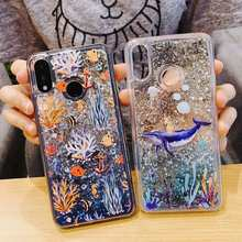 Luxury Liquid Glitter Case For Xiaomi Mi Mix 2S Case Sequin Dynamic Cover For Xiaomi Mi Max 3 Case For Xiaomi Mi Mix 2 S Cover(China)