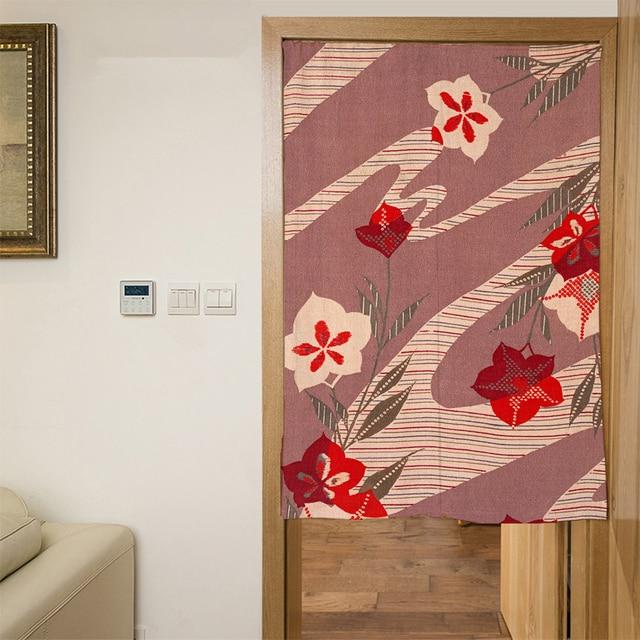 Stile del giappone 3D Porta Tende A Pannello Pittura di Colore Del ...