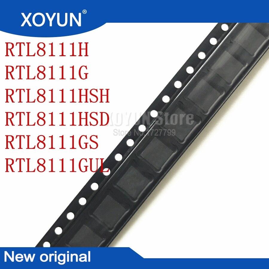 2pcs/lot RTL8111H RTL8111G RTL8111HSH RTL8111HSD RTL8111GS RTL8111GUL 8111H 8111G 8111HSH 8111HSD 8111GS 8111GUL QFN-32 100%New