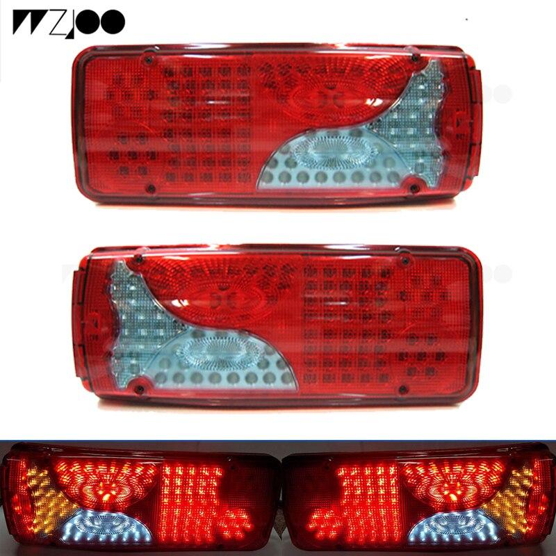 12V 24V 24W LED Lámpara de luz de inundación Oval De Trabajo Iveco Scania Volvo Daf Erf hombre 2 un