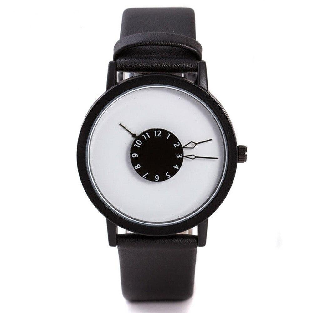 Top Brand Couple Lover Watch Reloj Mujer Hombre Clock Quartz Wristwatches Boy Girl Fashion Bracelet Leather Strap Drop Shipping