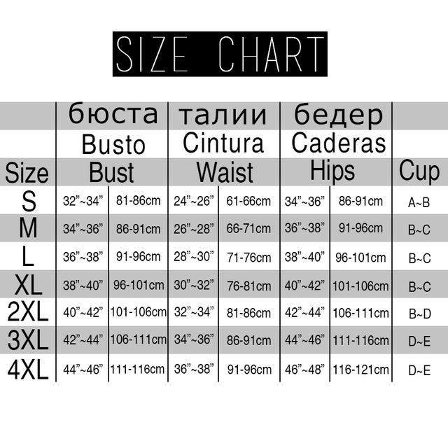 2017 Sexy Bikini Swimsuit – Push Up Halter Bikini Set – Plus Sizes