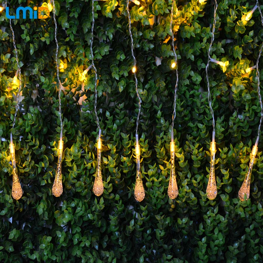 LMID Holiday Lighting christmas lights outdoor waterproof led string decorative led lights fairy lights outdoor with plug