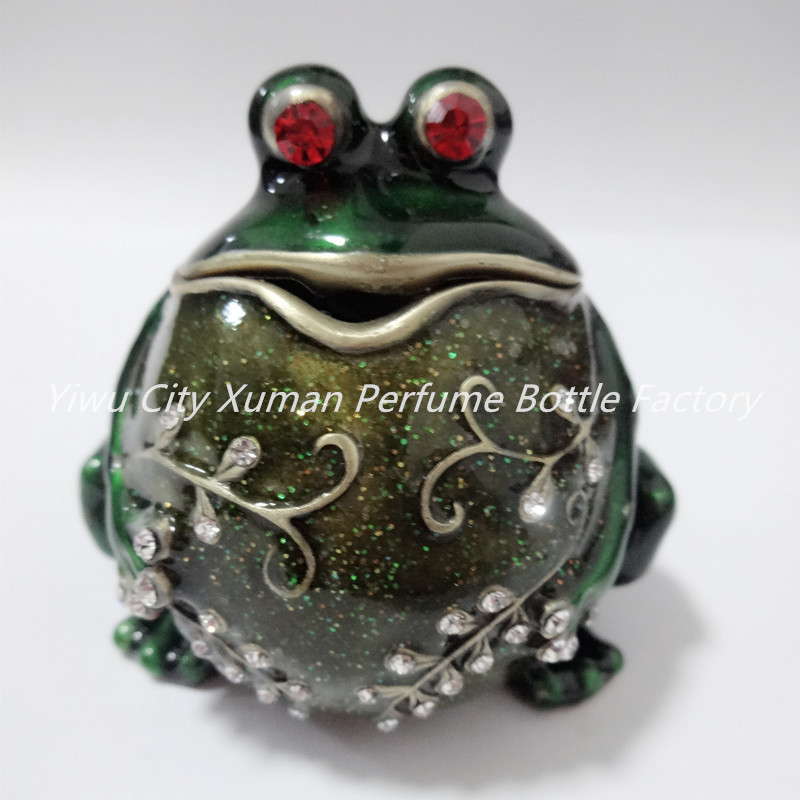 Metal Figurine Potbelly Frog Trinket Box Ring Holder Jewelry Stands Storage Box Wedding Jewelry Case Souvenirs Gift Crafts metal ring holder for smartphones silver