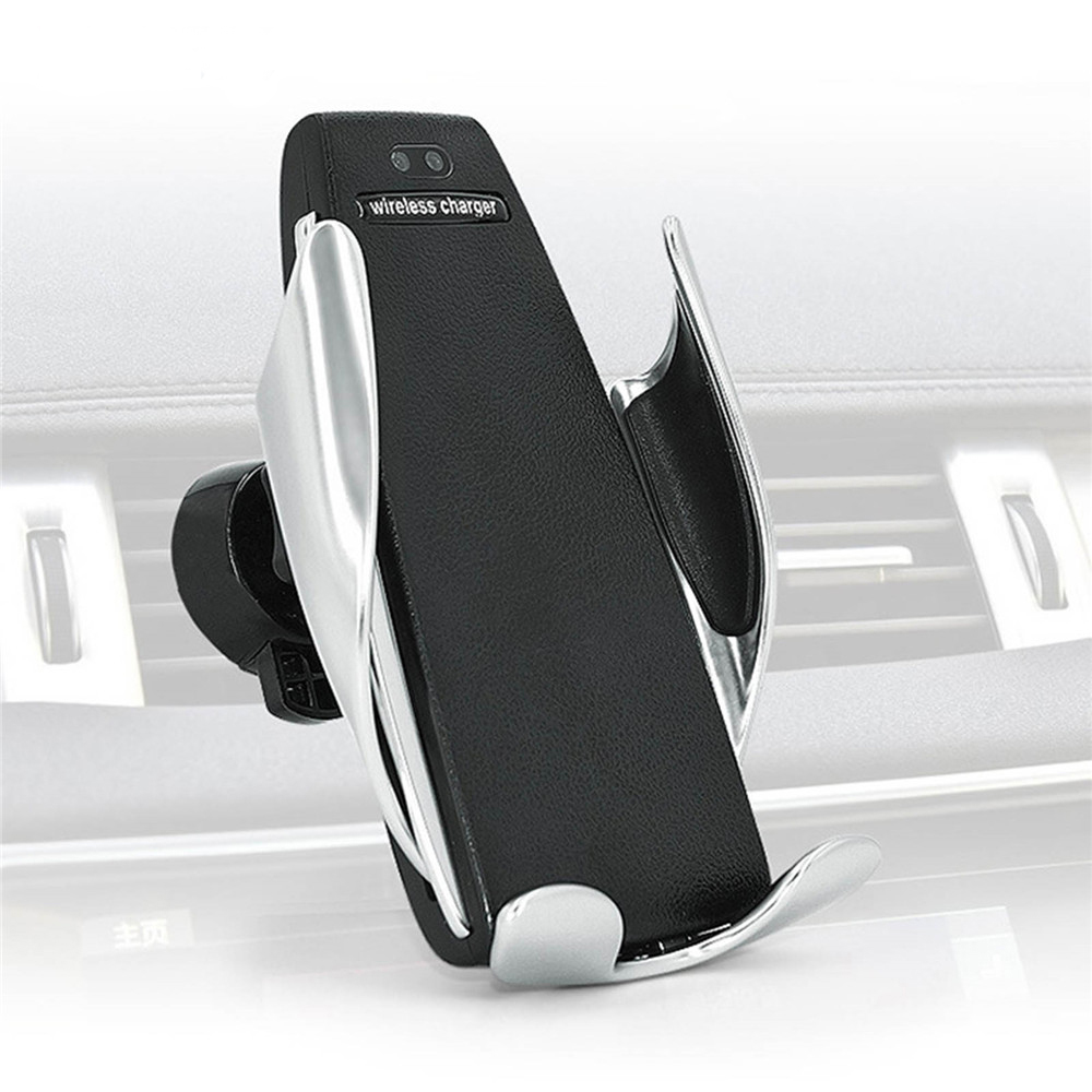 10W Car Holder Qi Wireless Charger Automatic Car Air Vent Fast Wireless Charger For Iphone Samsung Note 9 Cargador Inalambric
