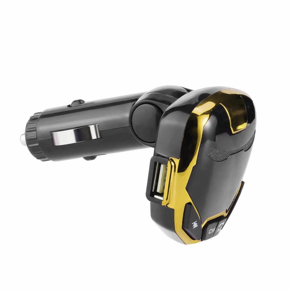 2019 multifunción inalámbrico Bluetooth cargador FM Transmisor modulador coche Kit MP3 reproductor de música G7 a Mp3 Voiture adaptador H0201