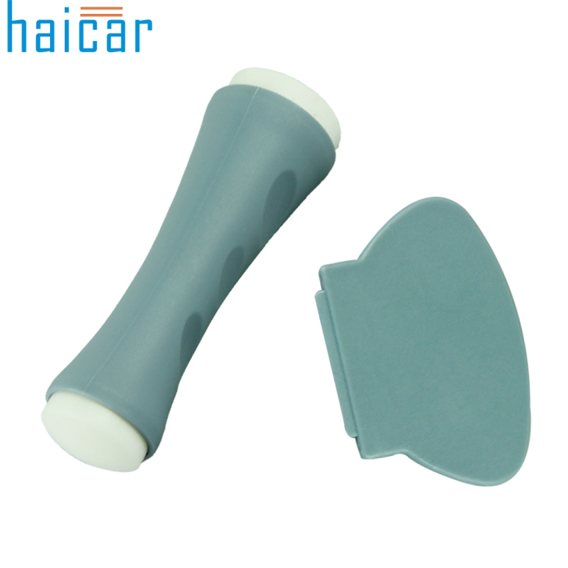 Haicar Good Quality Dual Ended Nail Stamp Scraper Stamper Transfer Stamping Plate Free shipping Best Deal 1pcs