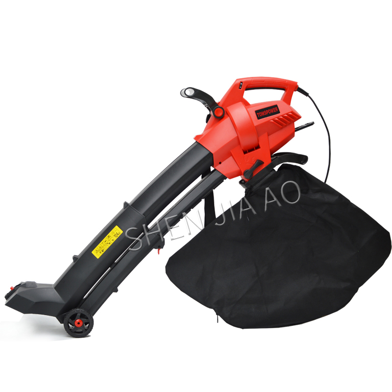 2800W Electric Blow / Suction Leaf Machine / Hair Dryer Leaf Suction Machine 220V Leaf Crusher Electric Leaf Cleaning Machine-in Leaf Blowers & Vacuums from Tools    2
