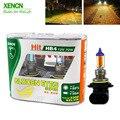 XENCN HB4 9006 12 в 70 Вт 2300 К золотой глаз Супер Желтый светильник  автомобильные лампы  замена апгрейд  головной светильник  галогенная лампа  беспл...