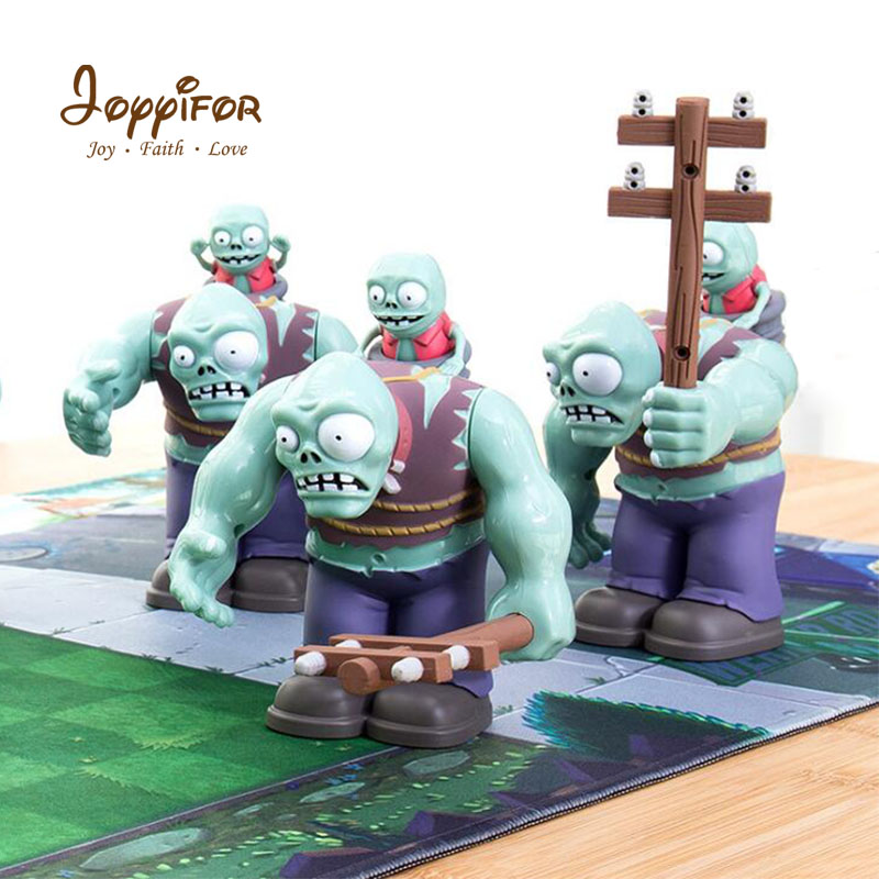 Joyyifor Large Zombie Action Figures Plants vs. Zombies PVZ Big Zomby with small zomby Building Blocks Toys Gifts Kids Toys image