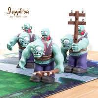 Joyyifor grandes figurines d'action Zombie plantes vs Zombies PVZ gros Zomby avec petits blocs de construction zomby jouets cadeaux enfants jouets