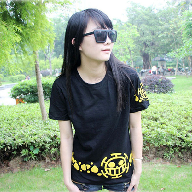 One Piece Trafalgar D Water Law Short Sleeve Cotton Unisex T-Shirt