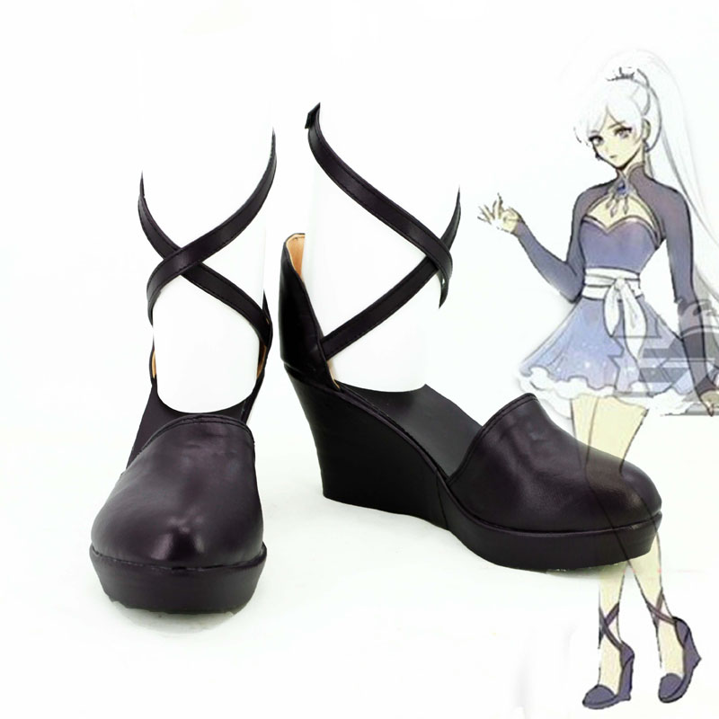RWBY Volume 4 Weiss Schnee Gray Cosplay Shoes Boots CosplayLove For Halloween Christmas Party