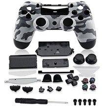 Niestandardowe obudowy kamuflażu obudowa przyciski do PS4 edycja limitowana wymiana kontrolera Sony Playstation 4 V1 Gamepad