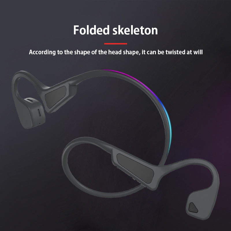 High Quality Bone Conduction Headset Wireless Bluetooth 5.0  4
