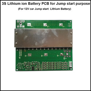 Image 1 - 3S 11.1V or 12.6V  Lithium  Jump starter battery BMS and PCB with 80A constant discharge current and 800A pulse current